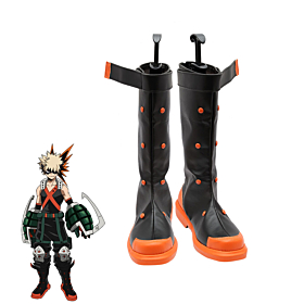 My Hero Academia Boku no Hero Akademia Katsuki Bakugou Shoes Cosplay Boots