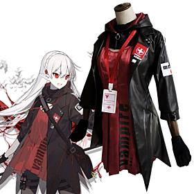 Arknights Warfarin Elite Promotion Cosplay Costume
