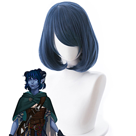 Critical Role Jester Lavorre Blue Cosplay Wig