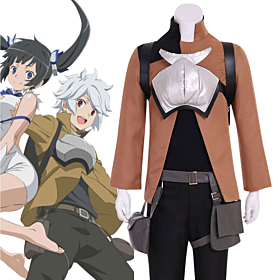 DanMachi Is It Wrong to Try to Pick Up Girls in a Dungeon? Bell Cranel Cosplay Costume
