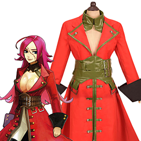 Fate EXTRA Last Encore Rider Francis Drake Cosplay Costume