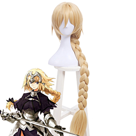 Fate Grand Order Ruler Joan of Arc Jeanne d'Arc Golden Cosplay Wig