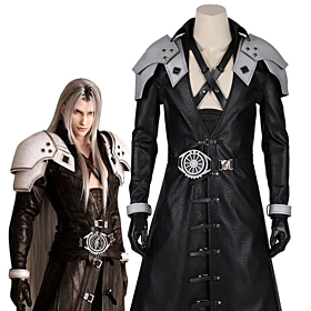 Final Fantasy VII Remake FF7 Sephiroth Cosplay Costume