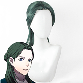 Fire Emblem: Three Houses 5 Years Linhardt Timeskip Green Cosplay Wig