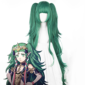 Fire Emblem: Three Houses Sothis Green Cosplay Wig