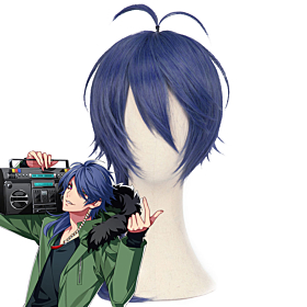 Hypnosis Mic Division Rap Battle Dice Arisugawa Dead or Alive Blue Cosplay Wig