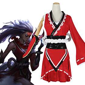 League Of Legends Blood Moon Diana Cosplay Costume