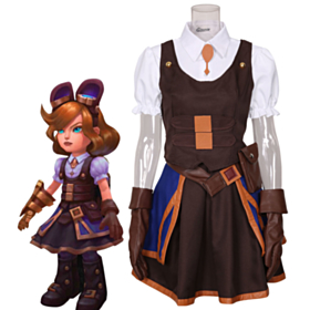 League of Legends LOL Hextech Annie the Dark Child Cosplay Costume