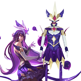 League of Legends LOL Star Guardian Syndra The Dark Sovereign Cosplay Costume