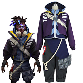 League of Legends LOL True Damage Ekko Cosplay Costume