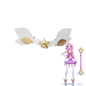 League of Legends Star Guardian Lux Cosplay Accessory Prop - Armbands and Headwear