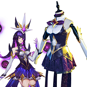 League of Legends Star Guardian Syndra the Dark Sovereign Cosplay Costume