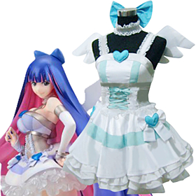 Panty And Stocking With Garterbelt Stocking Angel Cosplay Costume