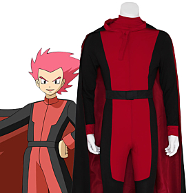 Pokémon Pokemon  Lance Red Cosplay Costume