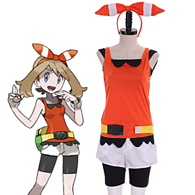 Pokemon Pocket Monster Alpha Sapphire Cosplay Costume