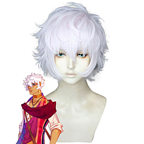 The Arcana Asra Silver Pink Cosplay Wig