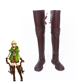 The Legend of Zelda: Breath of the Wild Linkle Brown Shoes Cosplay Boots