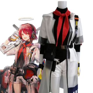 Arknights Exusiai KFC Cosplay Costume
