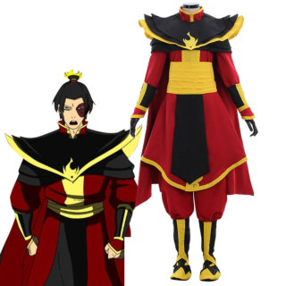 Avatar: The Last Airbender Prince Zuko Azula Cosplay Costume