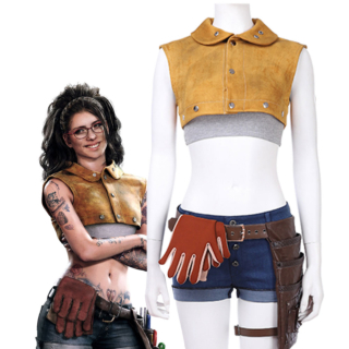 Devil May Cry 5 Nico Nicoletta Goldstein Cosplay Costume