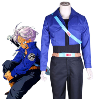 Dragon Ball Z Future Trunks Cosplay Costume