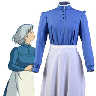 Howl's Moving Castle Sophie Hatter Cosplay Costume