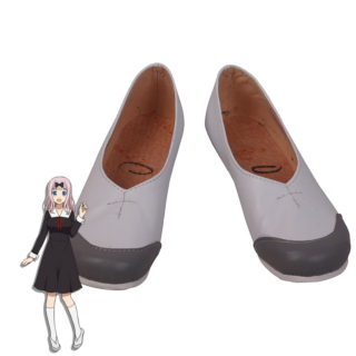 Kaguya-Sama Wa Kokurasetai: Tensai-Tachi No Renai Zunousen Kaguya-Sama: Love Is War Chika Fujiwara Kaguya Shinomiya White Cosplay Shoes