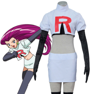 Pokémon Pokemon Pocket Monster Team Rocket Jessie Musashi Cosplay Costume