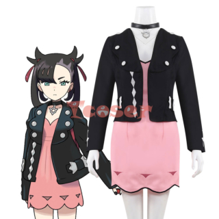 Pokemon Pokémon Sword And Shield Marnie Cosplay Costume