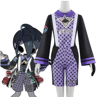 Pokemon Pokémon Sword and Shield Ghost-type Gym Leader Allister Cosplay Costume