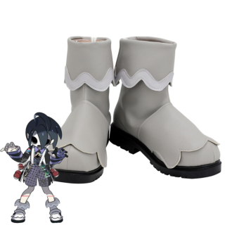 Pokemon Pokémon Sword And Shield Ghost-Type Gym Leader Allister White Cosplay Shoes