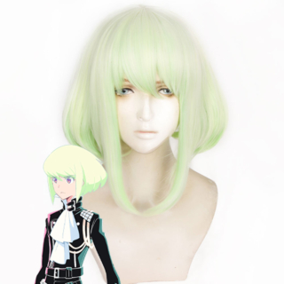 PROMARE LIO FOTIA Yellow Green Cosplay Wig