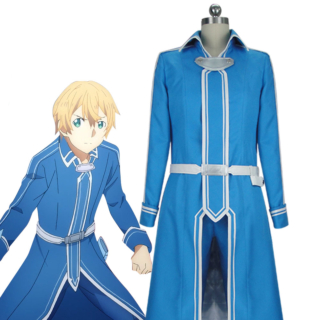 Sword Art Online Alicization SAO Eugeo New Edition Battle Suit Cosplay Costume