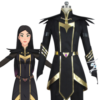 The Dragon Prince Claudia Cosplay Costume