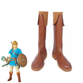 The Legend of Zelda: Breath of the Wild Link Shoes Cosplay Boots